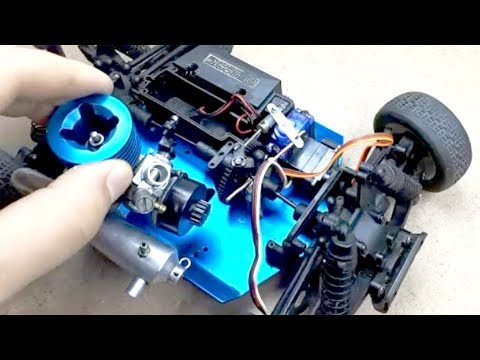 Nitro Engine on Car - RC Car Fix - Nitro arabamı tamir ettim...