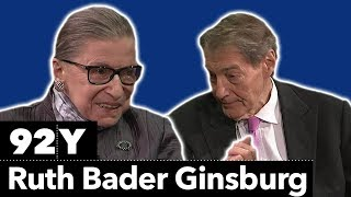 Supreme Court Justice Ruth Bader Ginsburg in Conversation with Charlie Rose