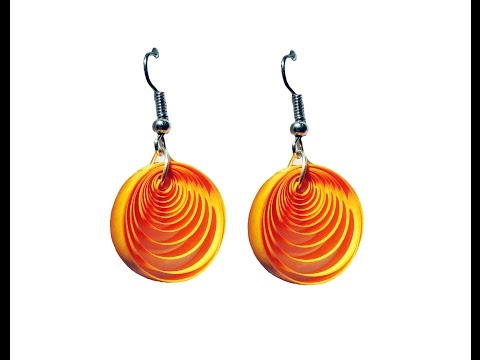Quilling Paper Earrings Latest Design Quilling Paper Earrings Making