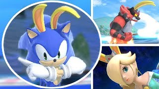 Download Who Can Survive the Big Blue in Super Smash Bros Ultimate? (All Characters Racing On Big Blue) Video