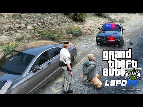 GTA 5 LSPDFR EPiSODE 108 - LET'S BE COPS - CITY PATROL (GTA