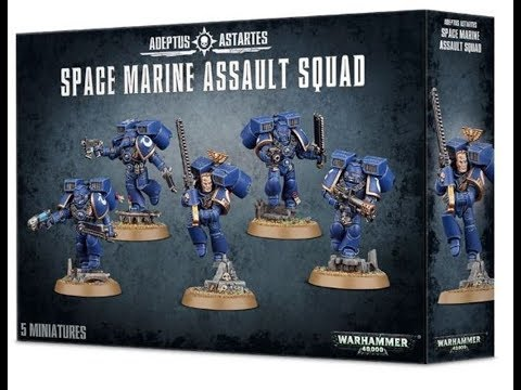 Giveaway WINNER! Space Marine Assault Squad 25/02/2018