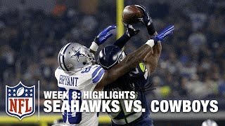 Seahawks vs. Cowboys | Week 8 Highlights | NFL