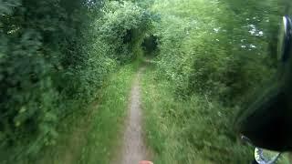 Morebath - Old Bampton Road (byway, N-s)