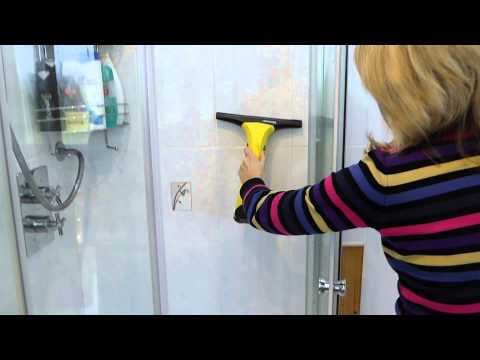 Using a Karcher window cleaner to help prevent mould in your bathroom