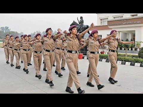 Girl Commando Training