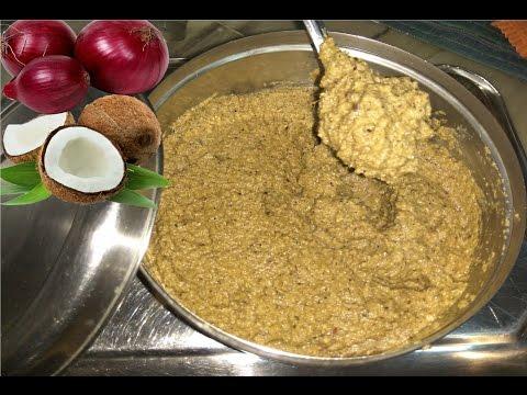 Kanda khobra che Vatan / Vatab   Onion - Coconut Masala paste  