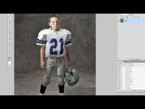 Photoshop Tutorial: Extending the Background