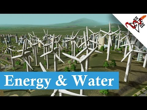Cities Skylines - Electricity and Water Services Guide
