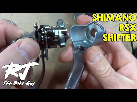 How To Disassemble/Reassemble Shimano RSX STI Shifters/Brifters (Left Shifter)