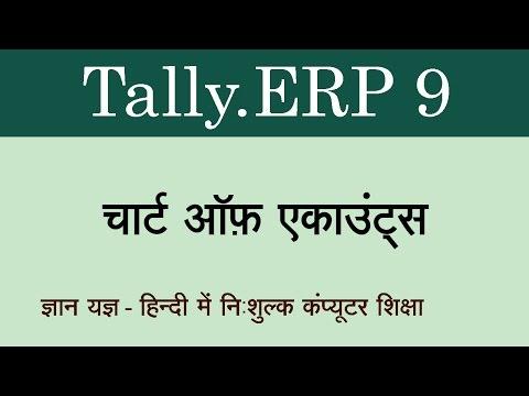Tally.ERP 9 in Hindi / Urdu ( Chart of Accounts ) - 51