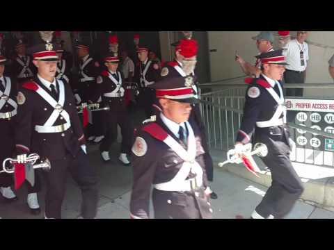 Ohio State Marching Band Ramp OSU vs BGSU 9 3 2016