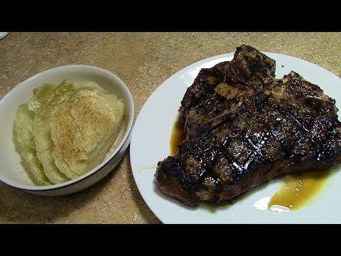 Porterhouse Steak on Grill Grates