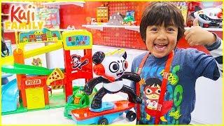 Ryan plays with Ryan's World Toys!!!!