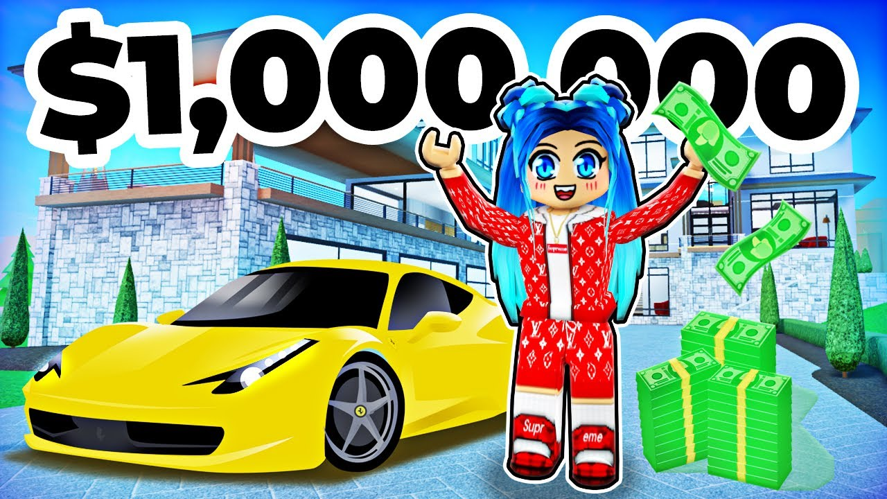 My $1,000,000 Mansion in Roblox!