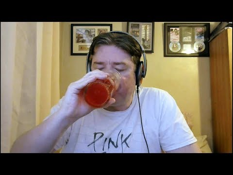 ASMR Drinking A Glass Of Ice Cold R WHITES Raspberry Lemonade 💕 Can/Glass Tapping 🎶