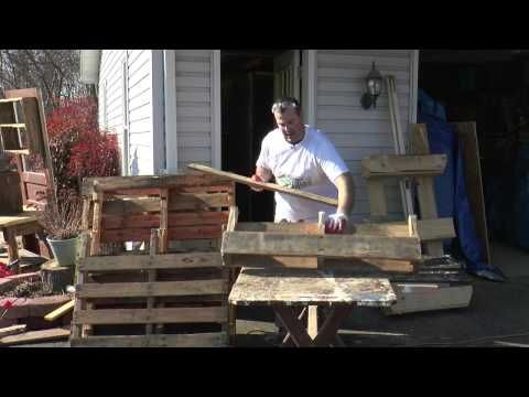 Season 1, Episode 23: How to build a planter from a pallet