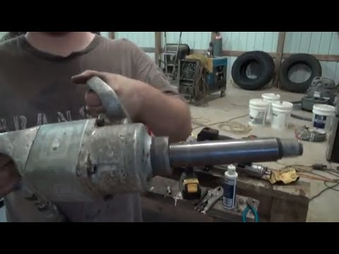 Ingersol rand 1 in impact repair and making my own parts