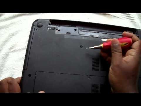 how to remove optical drive laptop