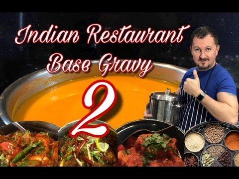 Indian Restaurant Base Gravy 2 - FULL Tutorial and Method - Al's Kitchen