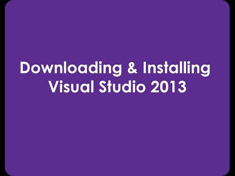Download & Install Visual Studio 2013 c# for beginners Urdu