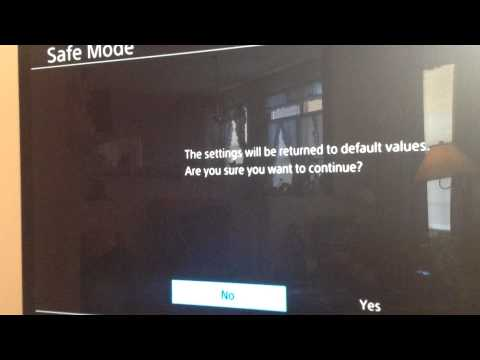 How to fix ps4 safe mode loop and save you money!!!!!!