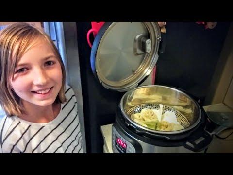 Autumn Eats - Kung Fu Panda Dumplings (Instant Pot) & Noodle Soup