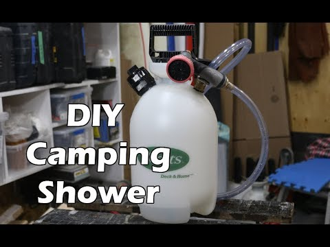 Portable Shower for Camping and Surfing