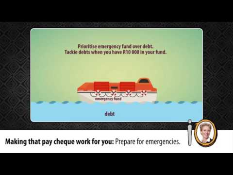 Change in your pocket Episode 3: Making that pay cheque work for you