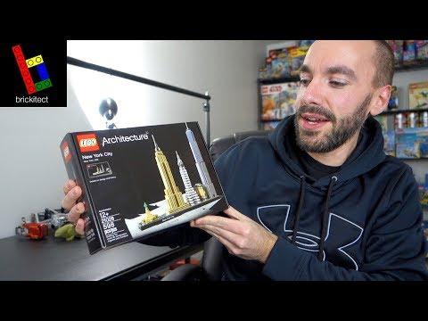 LEGO NEW YORK CITY UNBOX & BUILD!
