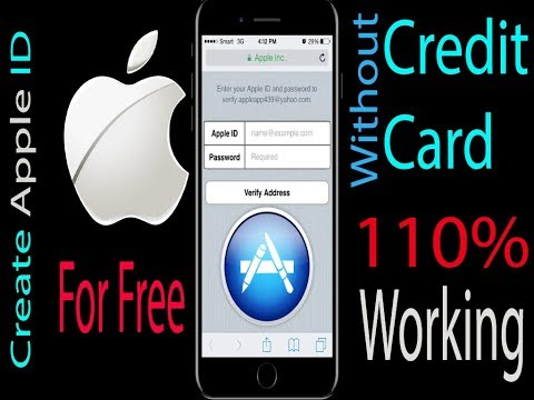 How to create Apple ID without Credit Card on iphone  - 110% Working
