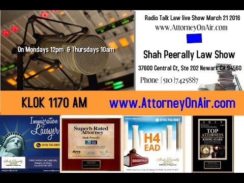 Immigration Talk - Radio: H4 EAD, H1B, Citizenship, H4 to F1, OPT, CARRP.