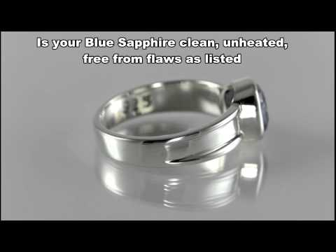 Blue Sapphire Side effects and how to test a Blue Sapphire