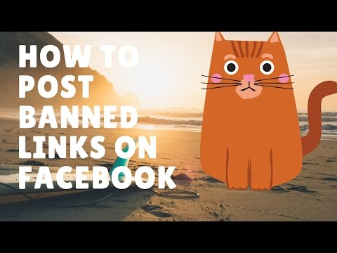 How To Post Any Affiliate Link Inside Facebook (Even Blocked Links)