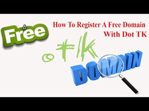 How to registration a free domain with dot tk  ||  (Imran Tech Tutorial)
