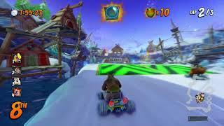 Crash Team Racing: Nitro Fueled -- Polar Pass track