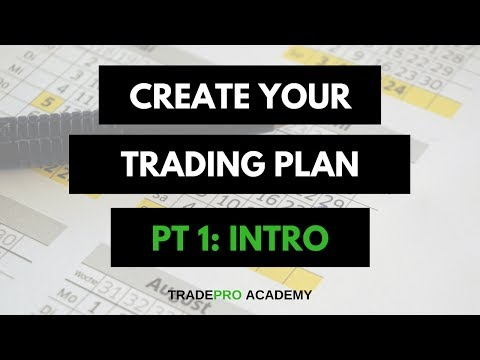Create Your Trading Plan - Why Risk Management is SO Important in the Stock Market.