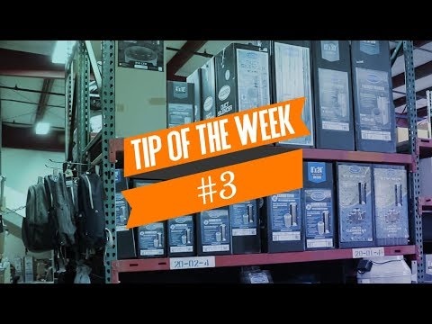Tip of the Week #3 How To Pair Fans & Filters CFM Measurement