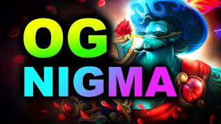 NIGMA vs OG - AMAZING GAME - AMD SAPPHIRE OGA DOTA PIT S4 DOTA 2