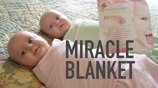 How To Swaddle Twins In Miracle Blanket Washtv