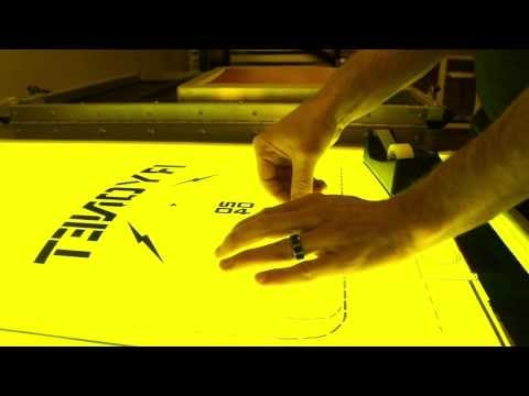 Easy and Quick DIY Film Alignment and Screen Printing Registration Trick