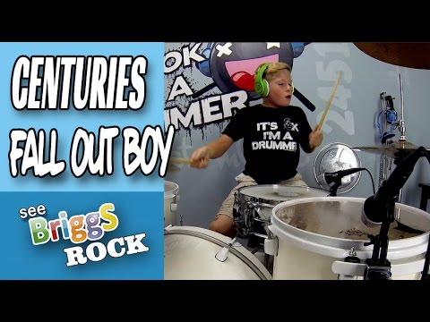 Fall Out Boy Centuries Drum Cover Briggs