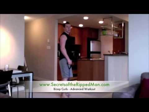 Bicep Curls Training Advanced Workout