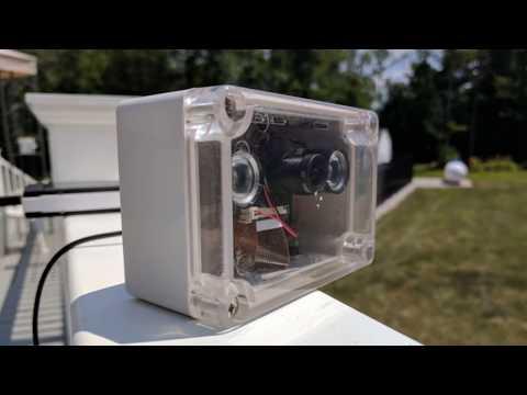 DIY Indoor/Outdoor WiFi Webcam with a Raspberry Pi