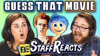 GUESS THAT MOVIE CHALLENGE #5! (ft. FBE STAFF)