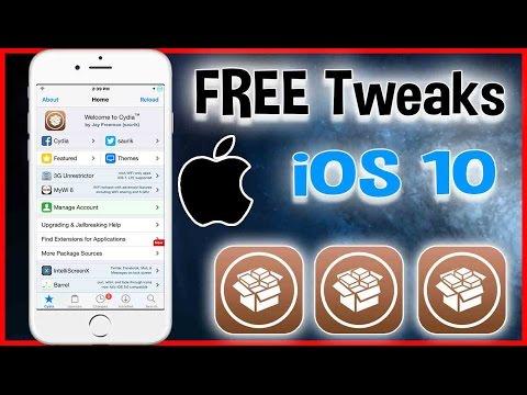 Best Top Five FREE Cydia Tweaks iOS10 - 10.2 Yalu Jailbreak  iPhone, iPad, iPod March 27 2017