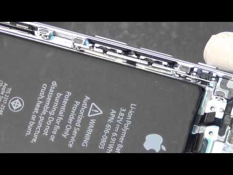 iPhone 6 Bending design an inside look at the frame CyberDocLLC com