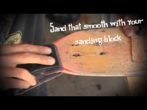 Surf Sufficient - Skateboard Handplane