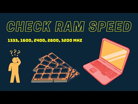 How to Check your PC RAM speed - by cmd