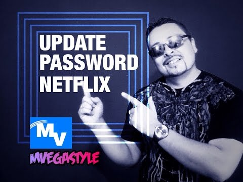 How to update your password on Netflix